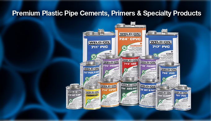 Weld-on pvc pipe cement msds