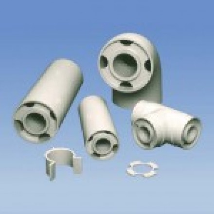 """2"""" X 4"""" Duo-Pro PP X PP Simultaneous Weld Pipe"""