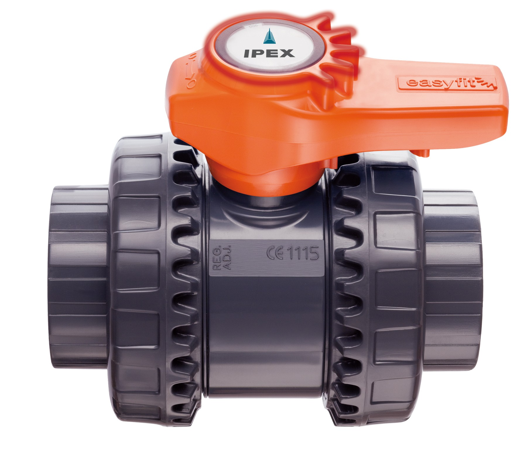 Pvc true union ball valve epdm ipex s t vxebv