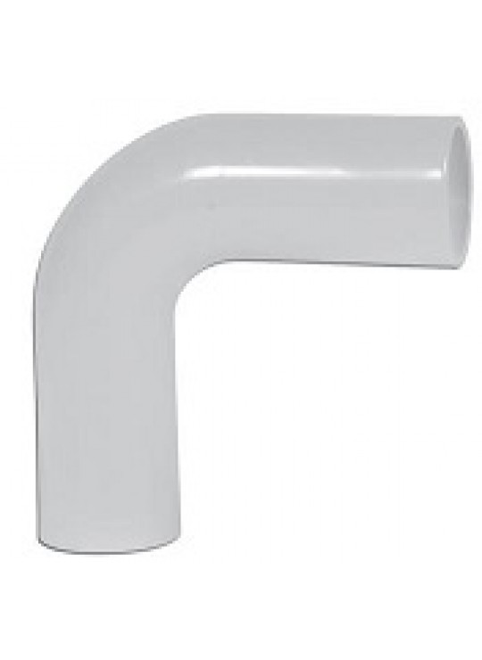 25MM NATURAL PPRO 90 DEG ELBOW   EXT LEG BUTT POLYPURE