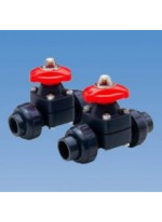 1/2 PVC 14 TU DIAPHRAGM VALVE    ASAHI THREADED EPDM
