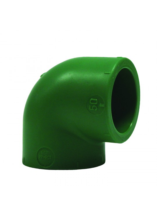 Asahitec PP-RCT Soc Fusion 50mm 90 Degree Elbow