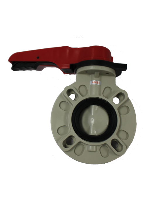"Asahitec PP-RCT 2"" TYPE-57 LEVER BUTTERFLY VALVE"