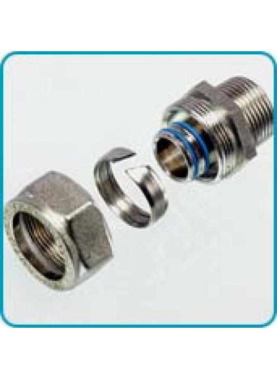 "3/8"" Duratec Stainless Female Thread Adapter"