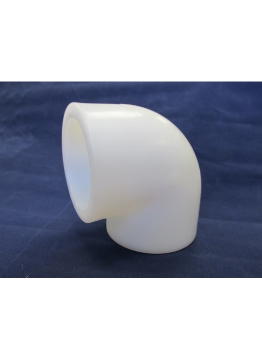 Polypro high purity pipe fittings ayer sales