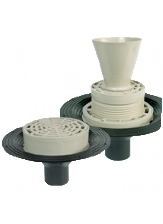 """P20034 6"""" BLANK COVER FORF1000 SERIES DRAINS FLOWAY"""