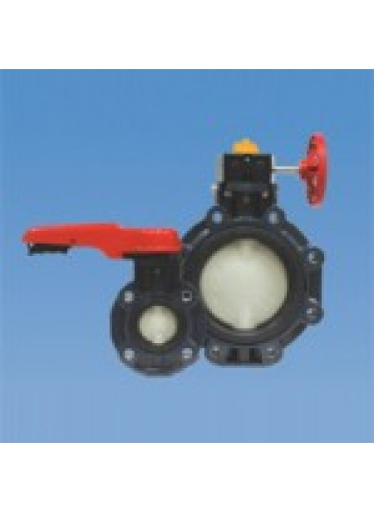 4 BUTTERFLY VALVE PPR BODY DISC  ASAHI TYPE 57 EPDM LEVER HANDLE