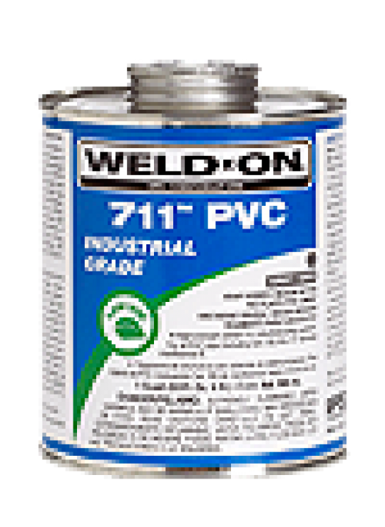 Gallon Weld-on Heavy Bodied PVC Solvent Cement