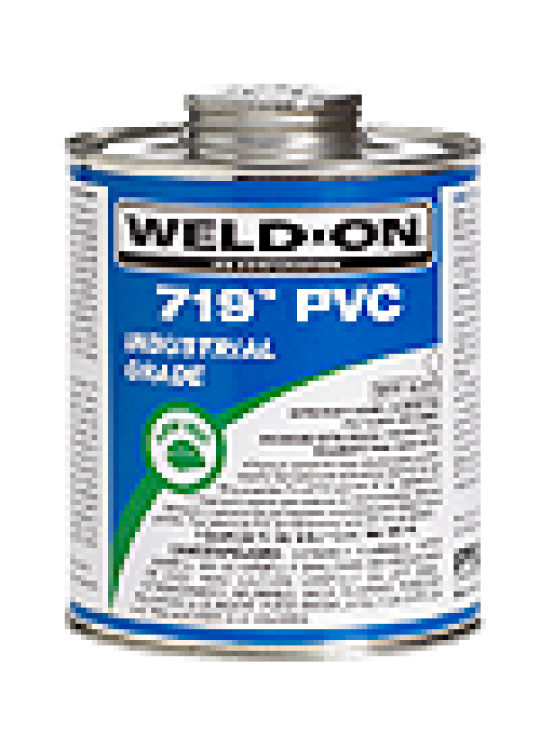Quart Weld-on Extra Heavy Bodied PVC Solvent Cement