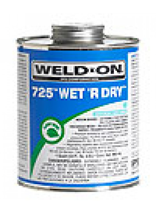 Quart Weld-on Medium Bodied PVC Specialty Solvent Cement