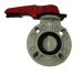 "Asahitec PP-RCT 1.5"" TYPE-57 LEVER BUTTERFLY VALVE"