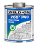 Gallon Weld-on Medium Bodied PVC Solvent Cement