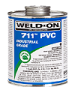 1/2 Pint Weld-on Heavy Bodied PVC Solvent Cement