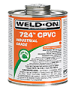 Gallon Weld-on Heavy Bodied CPVC Solvent Cement